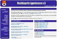 Internetseite 2001 bis 2002 - <br>für Großansicht anklicken