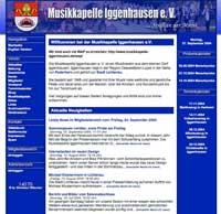 Internetseite 2004 bis 2008 - <br>für Großansicht anklicken