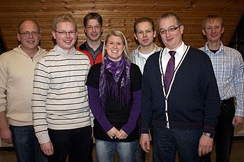 Der neue Vorstand der Musikkapelle