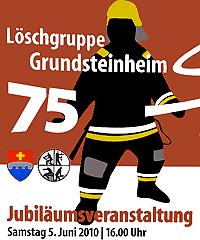 75 Jahre LG Grundsteinheim (klicken für Großansicht)