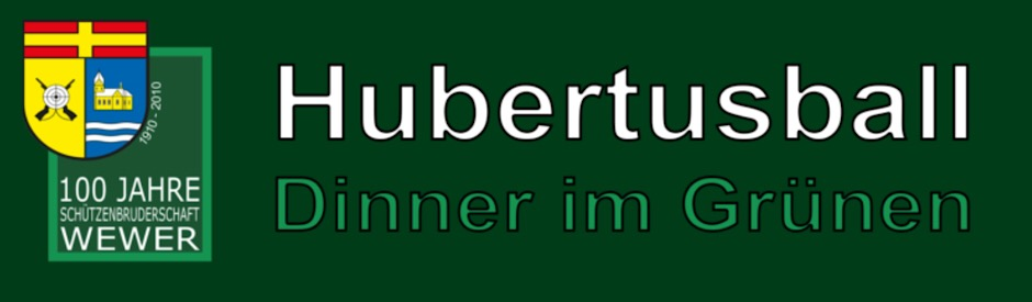 Hubertusball in Wewer