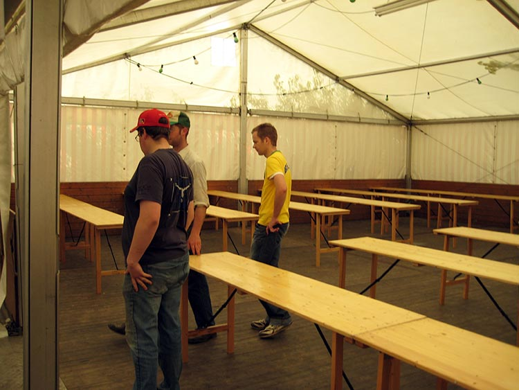 Unser Musikerfest - Vorbereitungen