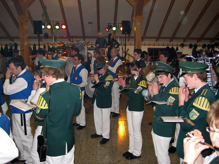 Musikerfest in Helmern
