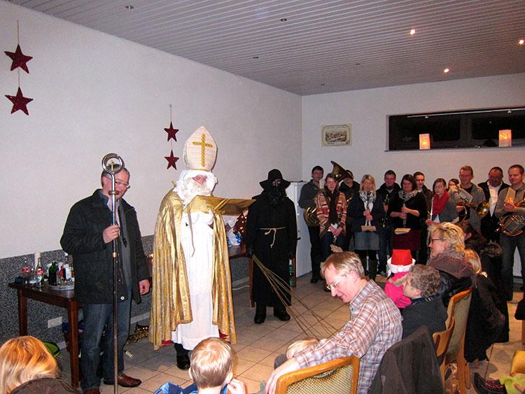 Nikolaus in Iggenhausen