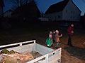 Osterfeuer und Flurreinigung in Iggenhausen (Bild 9553)