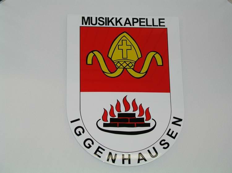 Ansicht des Wappens