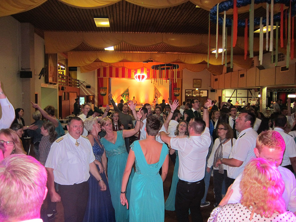Schützenfest in Alfen
