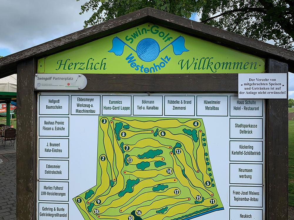 Swin-Golfen in Westenholz