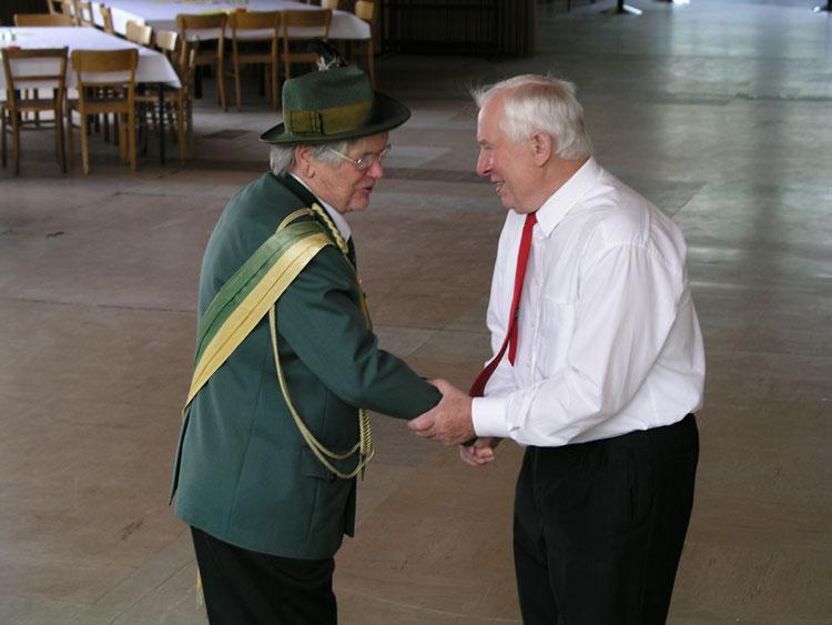 Anton Lappe und Franz Amediek