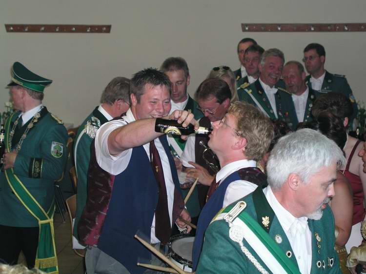 Schützenfest Etteln 2003