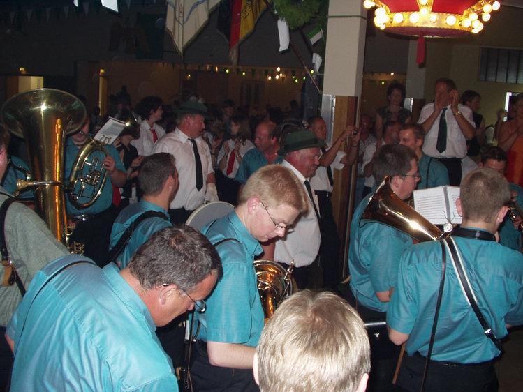 Schützenfest 2003 in Etteln