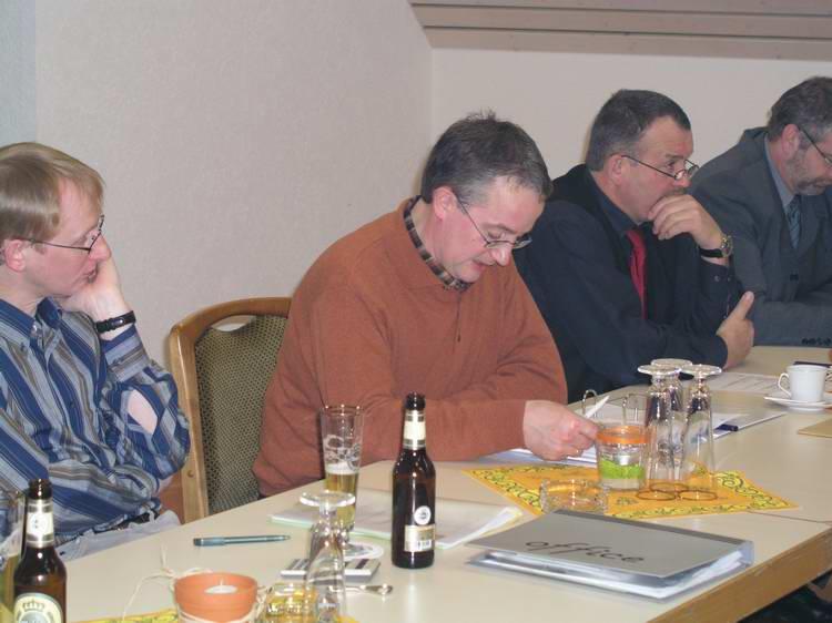 Generalversammlung 17.01.2004